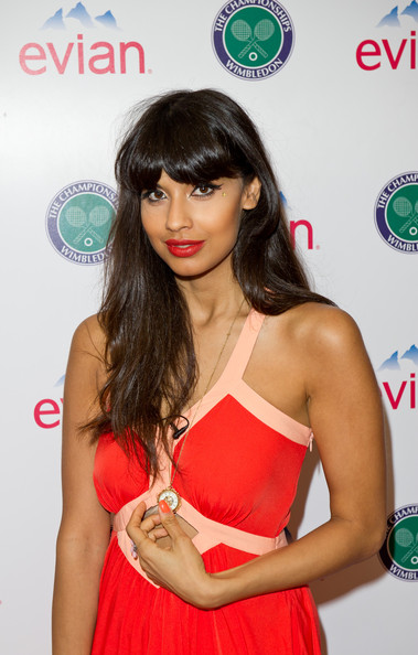 Jameela Jamil Calls For Body Confidence Education To Be On: Evian VIP Suite At Wimbledon