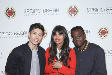 Jameela Jamil Manny Jacinto City Year Los Angeles' Spring Break: Destination Education