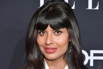 Jameela Jamil ELLE's 25th Annual Women In Hollywood Celebration Presented By L'Oreal Paris, Hearts On Fire And CALVIN KLEIN - Red Carpet