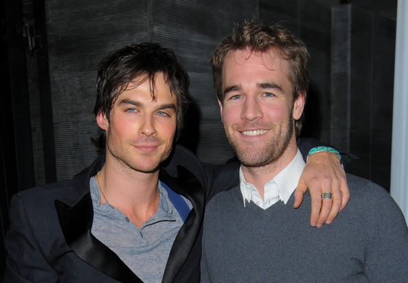 James Van Der Beek and Ian Somerhalder - 2nd Annual Golden Globes Party ...