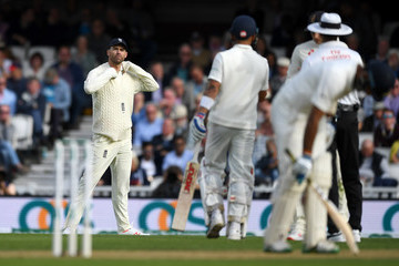 James Anderson England vs. India: Specsavers 5th Test - Day Two