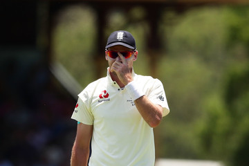 James Anderson Australia v England - Fifth Test: Day 4
