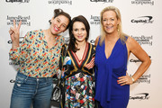 (L-R) Amirah Kassem, Sasha Cohen, and Clare Reichenbach attend as The James Beard Foundation kicks off the 2019-20 Taste America,presented byofficial banking and credit card partnerCapital One,with a tasting partyinNew York Citycelebrating sustainability and inclusivity with chefsfromacross the country.