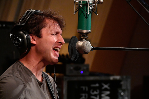 James Blunt Performs on SiriusXM's the Pulse Channel