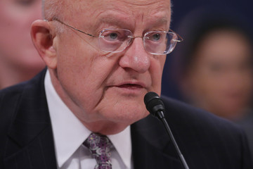 James Clapper U.S. Security Chiefs Testify at House Hearing on Worldwide Security Threats