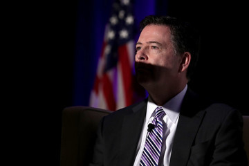 James Comey FBI Director Comey Discusses Counterterrorism and Cybersecurity at DC Dinner