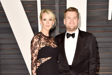 James Corden Arrivals at the Elton John AIDS Foundation Oscars Viewing Party — Part 5