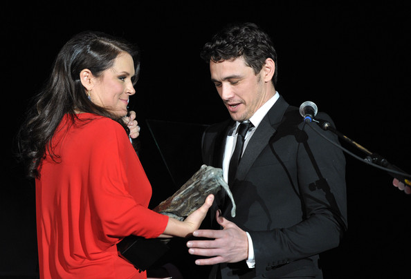"2011 Art Of Elysium ""Heaven"" Gala - Show [art of elysium ``heaven gala - show,event,suit,formal wear,performance,acting,conversation,gesture,duet,james franco,jennifer howell,r,spirit,award,elysium,california science center,art of elysium,l]"