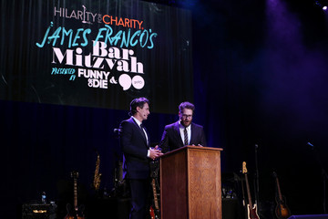 James Franco Seth Rogen Hilarity for Charity's Annual Variety Show: James Franco's Bar Mitzvah