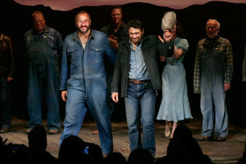 James Franco 'Of Mice and Men' First Curtain Call