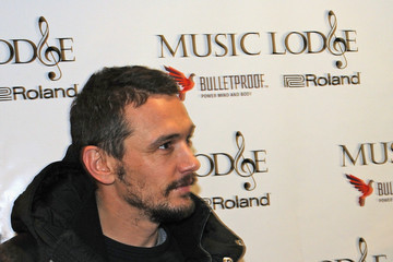 James Franco Music Lodge Hosts MTV Interview Studio - Day 1 - 2015 Park City