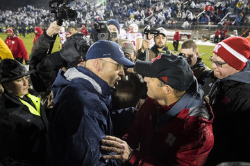 James Franklin Nebraska v Penn State