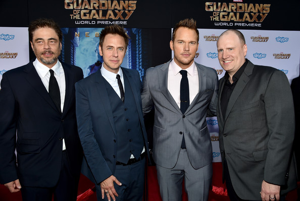 James Gunn And Chris Pratt Photos Photos Guardians Of