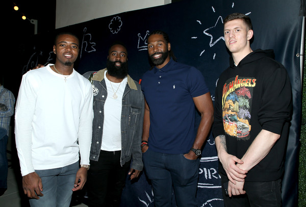 38af34732bc James Harden and Isaiah Hartenstein Photos»Photostream · Pictures · B Real  Premiere Event