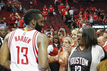 James Harden Oklahoma City Thunder v Houston Rockets - Game Two