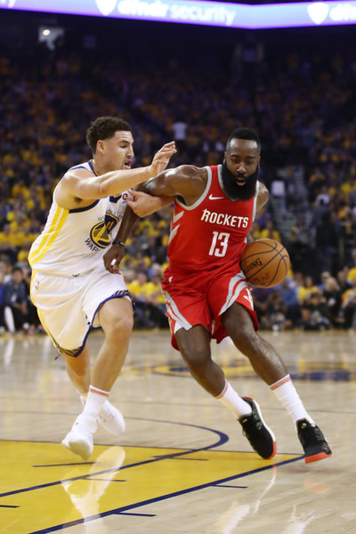 6730d249c443 James Harden and Klay Thompson Photos»Photostream · Pictures · Houston  Rockets vs. Golden State Warriors - Game Three