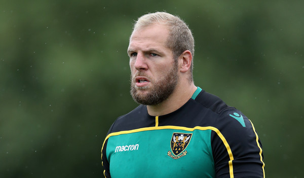 Northampton Saints Training Session