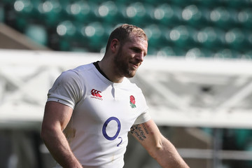 James Haskell England Open Training Session