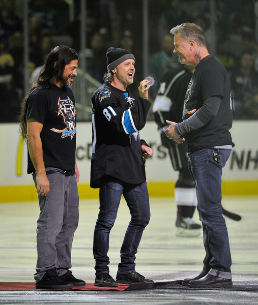 Metallica Night at the San Jose Sharks Game
