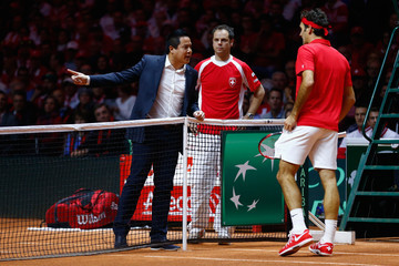 James Keothavong France v Switzerland