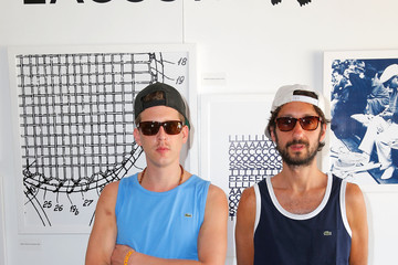 James Levy LACOSTE Beautiful Desert Pool Party - Day 2