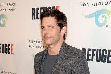 James Marsden Opening of REFUGEE Exhibit At Annenberg Space For Photography