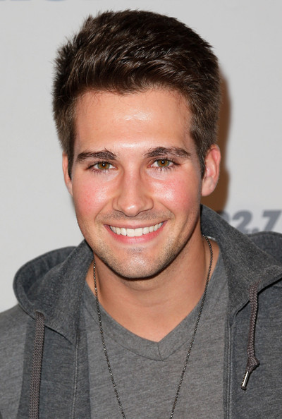 James maslow kiis fm s 2012 jingle ball night 1 arrivals