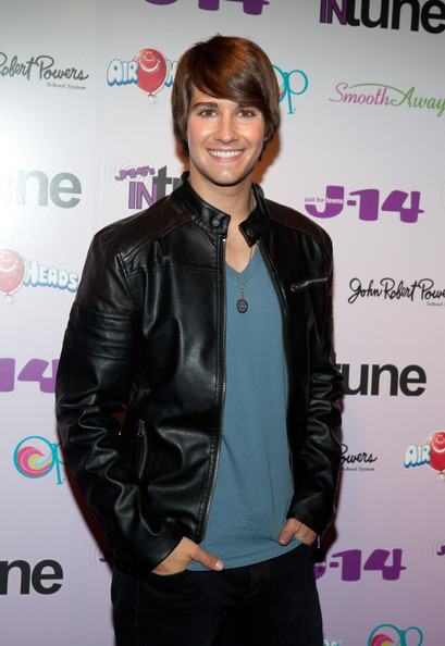 James Maslow Member of Big Time Rush James Maslow poses on the red ...