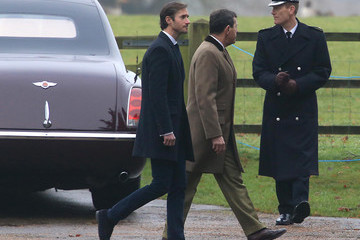 James Matthews Members Of The Royal Family Attend St Mary Magdalene Church In Sandringham
