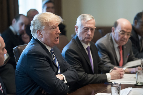 James Mattis and Wilbur Ross Photos - 3 of 4