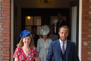 James Middleton Christening Of Prince Louis Of Cambridge At St James's Palace