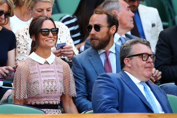 James Middleton Day Three: The Championships - Wimbledon 2017