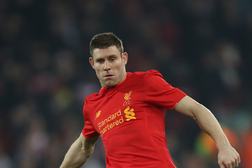 James Milner Liverpool v Southampton - EFL Cup Semi-Final: Second Leg