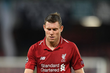 James Milner SSC Napoli vs. Liverpool - UEFA Champions League Group C