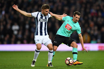 James Morrison West Bromwich Albion v Derby County - The Emirates FA Cup Third Round