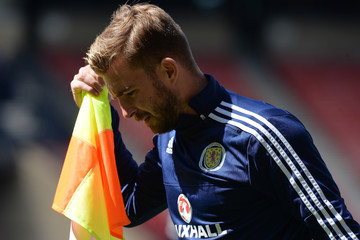 James Morrison Scotland Training Session and Press Conference