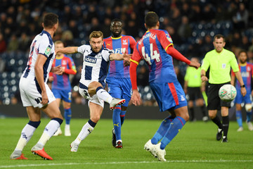 James Morrison West Bromwich Albion v Crystal Palace - Carabao Cup Third Round