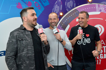 James Murray 2017 iHeartRadio Music Festival - Night 1 - Backstage