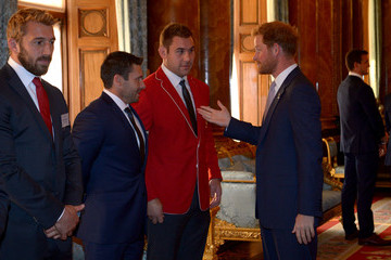 James Pritchard The Queen Hosts Reception to Mark the Rugby World Cup 2015