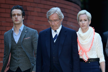 James Roache William Roache Arrives at Court