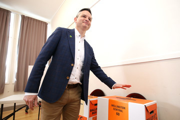 James Shaw New Zealanders Head To The Polls To Vote In  2017 General Election