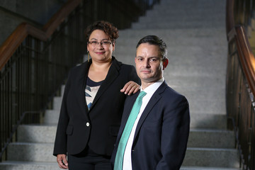 James Shaw Portraits of Green Party Leaders