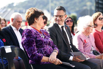 James Shaw Anzac Day Commemorated In New Zealand