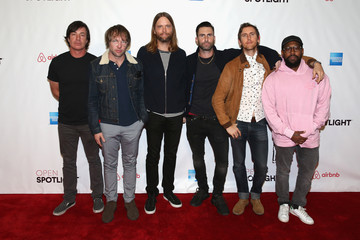 James Valentine Airbnb Open LA - Headlining Act: Maroon 5