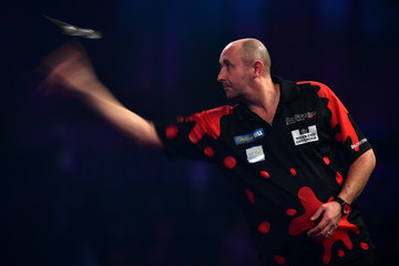 James Wilson 2017 William Hill PDC World Darts Championships - Day Eight