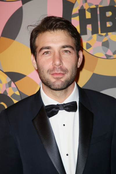 HBO's Official Golden Globes After Party - Arrivals [hair,suit,facial hair,chin,forehead,formal wear,tuxedo,premiere,beard,moustache,james wolk,california,los angeles,circa 55 restaurant,golden globes,hbo,party,arrivals,james wolk,watchmen,actor,the dome entertainment centre,photograph,television,celebrity,hbo,image]