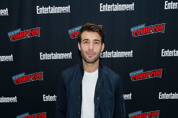 James Wolk Entertainment Weekly At New York Comic Con - Day 2