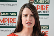 Actress Michelle Ryan attends the 2012 Jameson Empire Awards at the Grosvenor House Hotel on March 25, 2012 in London, England.