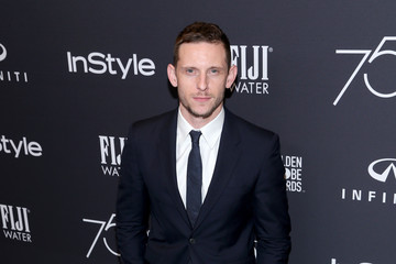 Jamie Bell FIJI Water at the Hollywood Foreign Press Association and InStyle's Celebration of the 2018 Golden Globe Awards Season