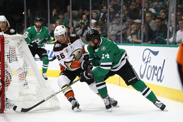 Jamie Benn Anaheim Ducks v Dallas Stars